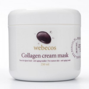 Kolagenowa maska do twarzy Webecos Collagen cream mask 250ml