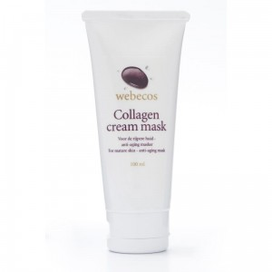 Kolagenowa maska do twarzy Webecos Collagen cream mask 100ml