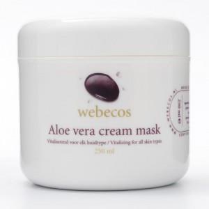 Maska aloesowa Webecos Aloe Vera Cream Mask 250ml